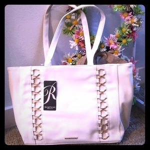 Rampage cream shoulder purse NEW!
